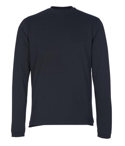 MASCOT® Albi - mörk marin - T-shirt, långärmad, modern passform