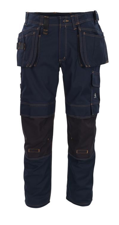 MASCOT® Almada - mörk marin - Byxor med CORDURA®-knäfickor och hängfickor, hög slitstyrka