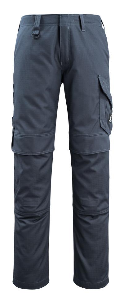 MASCOT® Arosa - mörk marin - Byxor med knäfickor, smutsavvisande, multiskydd