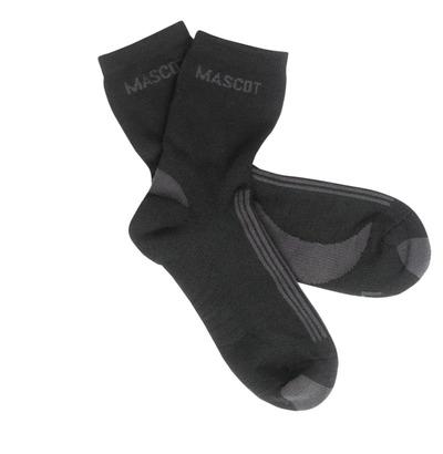 MASCOT® Asmara - svart/mörk antracit - Sockor, fukttransporterande