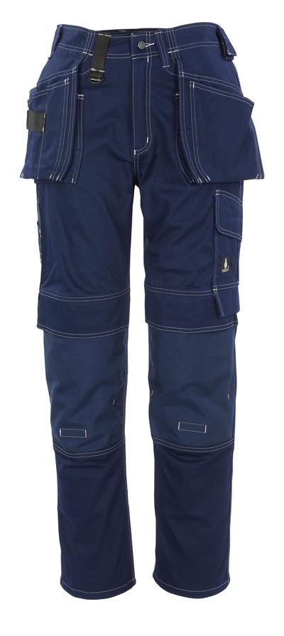 MASCOT® Atlanta - marin - Byxor med CORDURA®-knä- och hängfickor, bomull