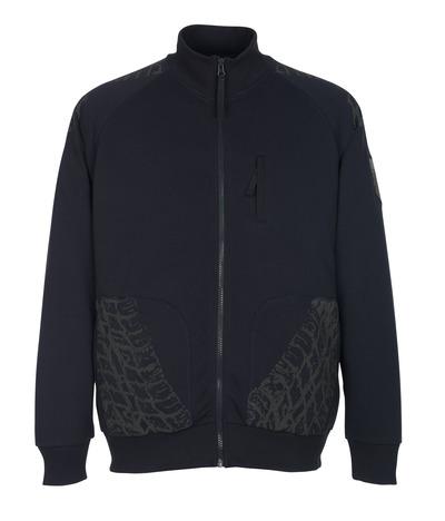 MASCOT® Belfort - mörk marin* - Sweatshirt med blixtlås