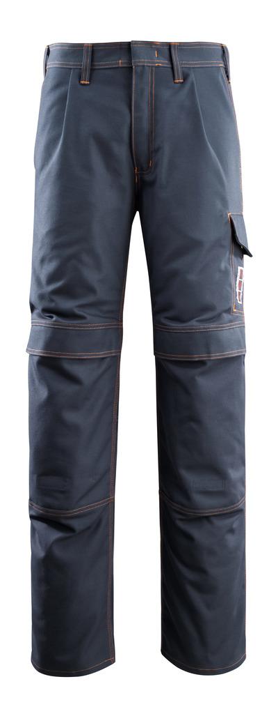 MASCOT® Bex - mörk marin - Byxor med knäfickor, multiskydd