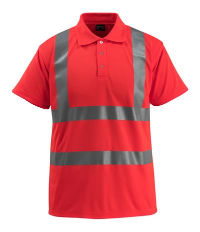 MASCOT® Bowen - hi-vis röd - Pikétröja, klassisk passform, klass 2