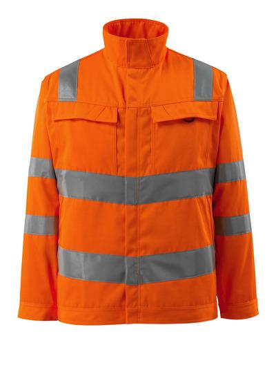 MASCOT® Bunbury - hi-vis orange - Jacka, hög slitstyrka, enfärgat, klass 3