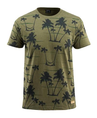 MASCOT® Bushwick - mossgrön* - T-shirt