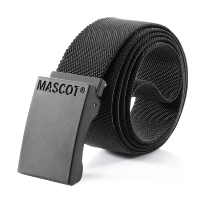 MASCOT® COMPLETE - svart - Bälte med justerbart spänne, elastisk