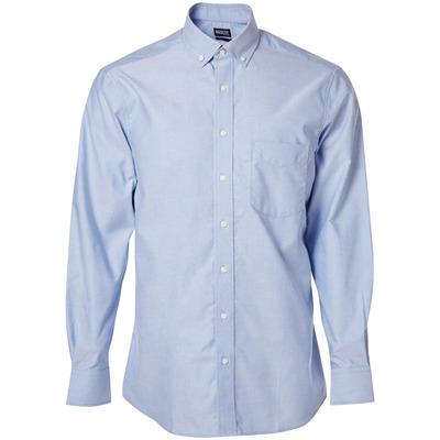 MASCOT® CROSSOVER - ljus-blå - Skjorta, oxford, klassisk passform