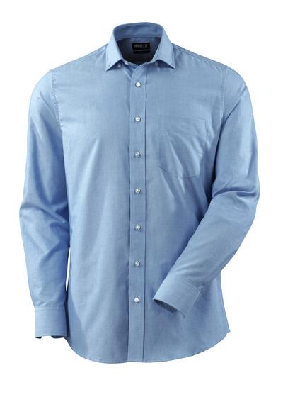 MASCOT® CROSSOVER - ljus-blå - Skjorta, oxford, modern passform