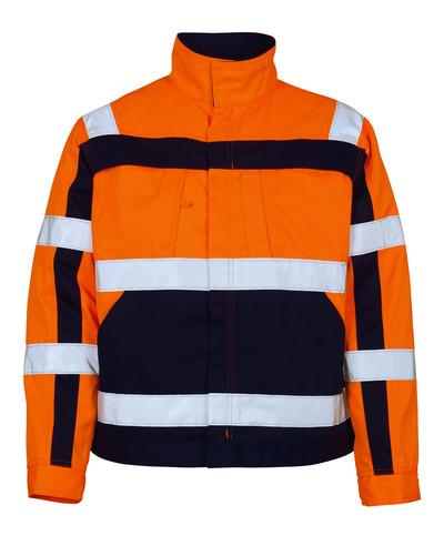 MASCOT® Cameta - hi-vis orange/marin - Jacka, hög slitstyrka, klass 2