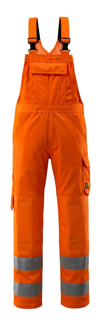 MASCOT® Devonport - hi-vis orange - Snickarbyxor med knäfickor, enfärgade, klass 2.