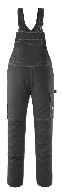 MASCOT® Elvas - svart - Snickarbyxor, hög slitstyrka