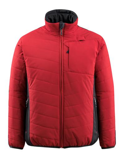 MASCOT® Erding - röd/svart - Jacka med foder, vattenavvisande, hög isoleringsförmåga