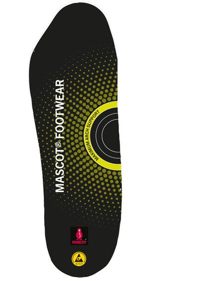MASCOT® FOOTWEAR - svart - Inläggssulor med stötdämpning, maximalt hålfotsstöd