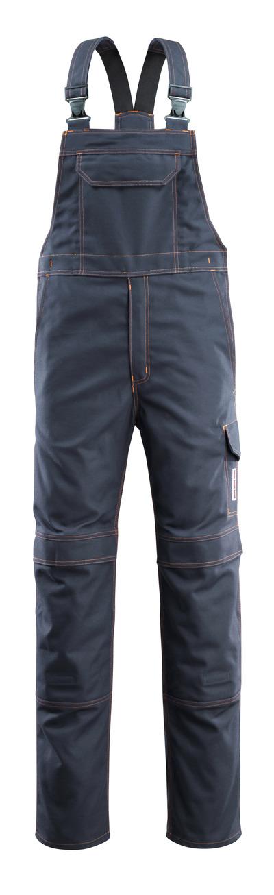 MASCOT® Freibourg - mörk marin - Snickarbyxor med knäfickor, multiskydd