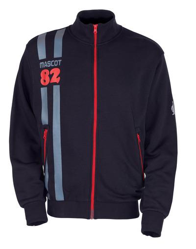 MASCOT® Fundao - mörk marin* - Sweatshirt med blixtlås