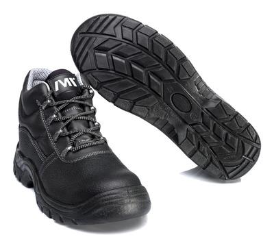 MACMICHAEL® Greenhorn - svart - Skyddskängor S3 med snörning