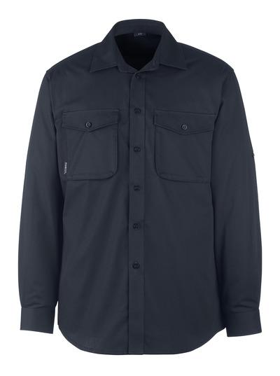 MASCOT® Greenwood - mörk marin - Skjorta, modern passform
