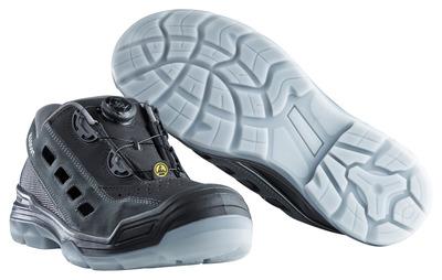 MASCOT® Grofa - svart/antracit - Skyddssandal S1P med Boa®-stängning