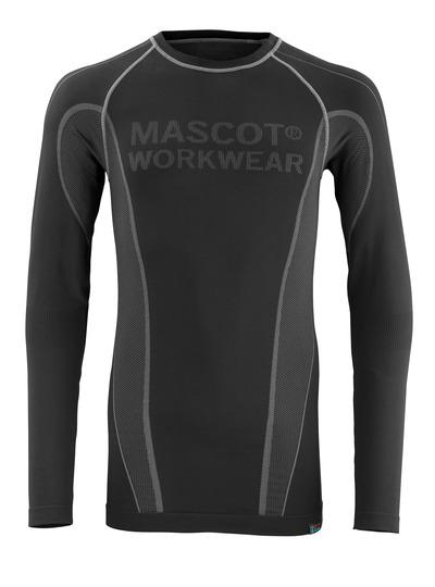 MASCOT® Hamar - svart - Funktionsunderställströja, fukttransporterande, isolerande