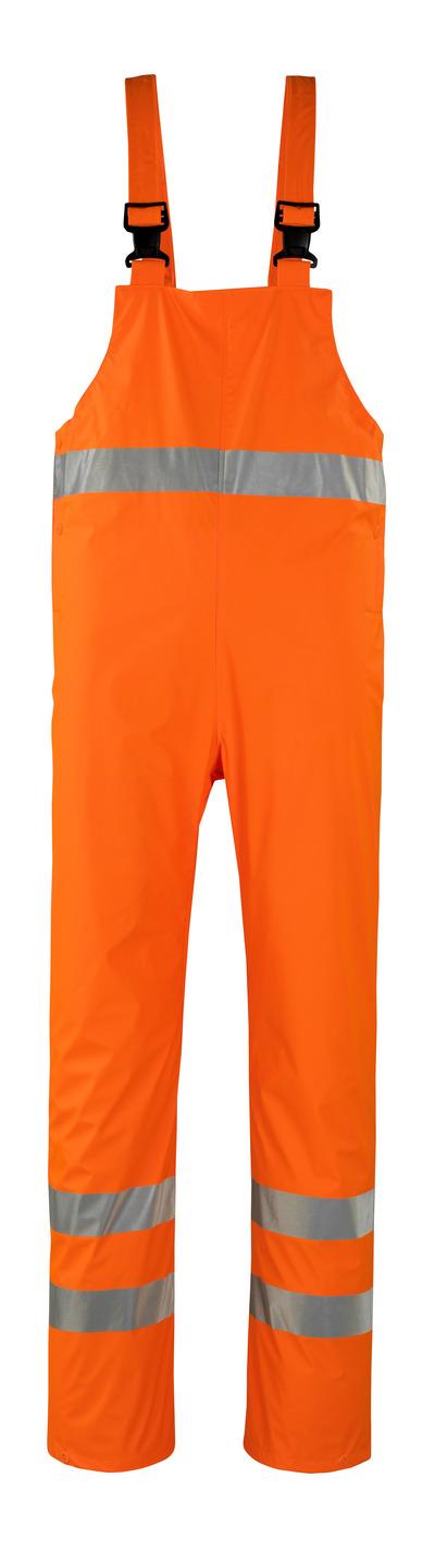 MASCOT® Hartberg - hi-vis orange* - Regnoverall, vindtät och vattentät, klass 2