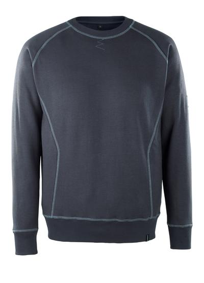 MASCOT® Horgen - mörk marin - Sweatshirt, multiskydd, modern passform