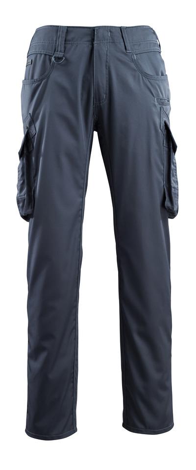 MASCOT® Ingolstadt - mörk marin - Byxor med lårfickor, extra låg vikt