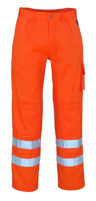 MASCOT® Iowa - hi-vis orange* - Byxor med knäfickor, klass 1/2