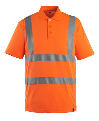 MASCOT® Itabuna - hi-vis orange - Pikétröja, modern passform, klass 2