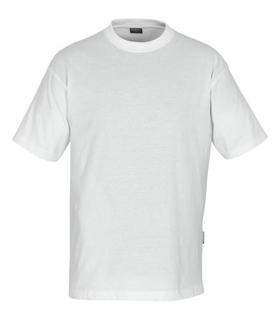 MASCOT® Jamaica - vit - T-shirt, låg vikt, klassisk passform