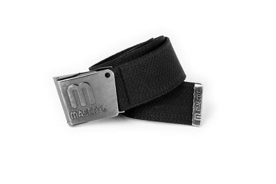 MASCOT® Kampala - svart - Bälte med justerbart spänne, elastisk