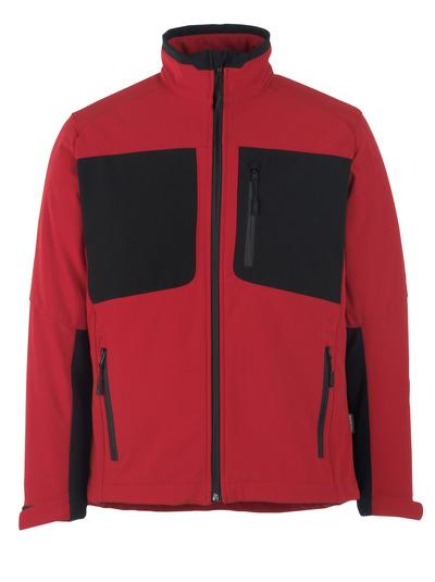 MASCOT® Lagos - signalröd/svart* - Softshelljacka med fleece på insidan, vattenavvisande