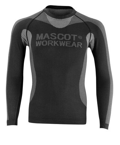 MASCOT® Lahti - svart - Funktionsunderställströja, låg vikt, isolerande