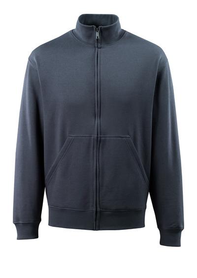 MASCOT® Lavit - mörk marin - Sweatshirt med blixtlås