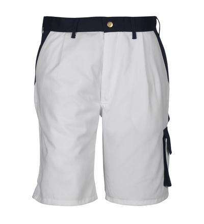 MASCOT® Lido - vit/marin*/¹) - Shorts, hög slitstyrka
