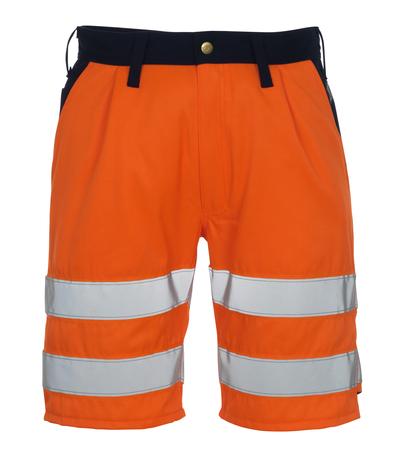 MASCOT® Lido - hi-vis orange/marin* - Shorts, klass 1/2