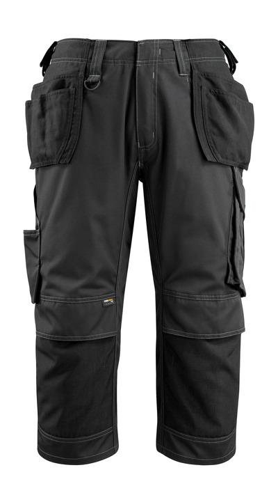 MASCOT® Lindau - svart - Knickers med CORDURA®-knä- och hängfickor, hög slitstyrka