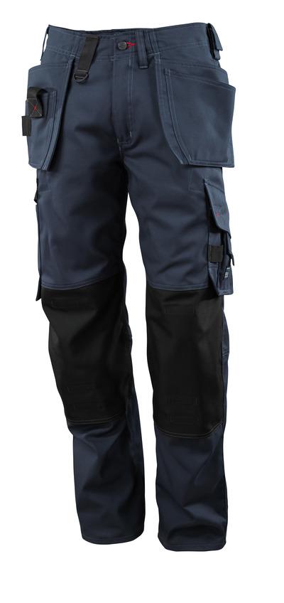 MASCOT® Lindos - mörk marin - Byxor med CORDURA®-knäfickor och hängfickor, låg vikt