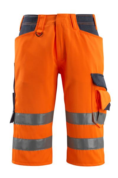 MASCOT® Luton - hi-vis orange/mörk marin - Knickers, klass 1