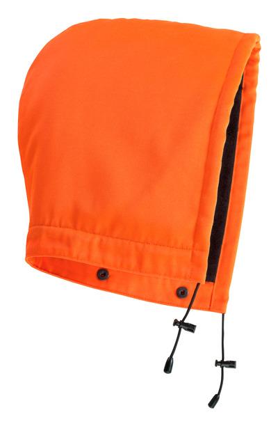 MASCOT® MacAllen - hi-vis orange - Huva med tryckknappar och foder, vattenavvisande