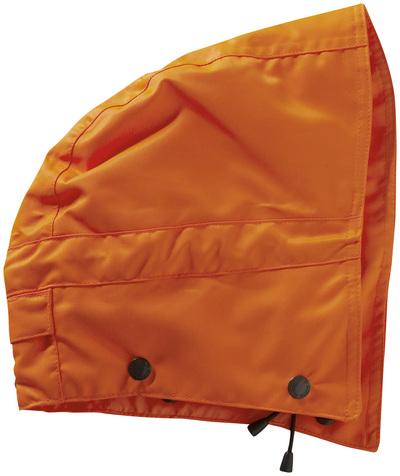 MASCOT® MacCall - hi-vis orange - Huva med tryckknappar och foder, vattentätt