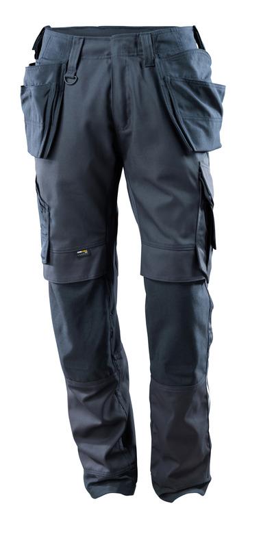 MASCOT® Madrid - mörk marin - Byxor med CORDURA®-knä- och hängfickor, stretchpaneler, hög slitstyrka