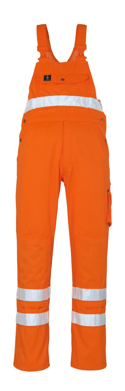 MASCOT® Maine - hi-vis orange* - Snickarbyxor med knäfickor, klass 2/2