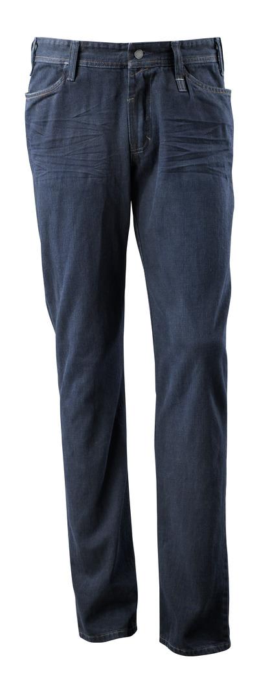 MASCOT® Manhattan - tvättat mörk blå denim¹) - Jeans