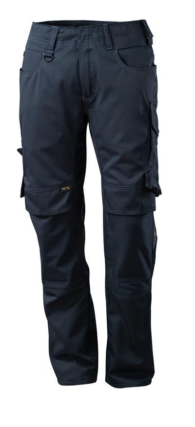 MASCOT® Mannheim - mörk marin - Byxor med CORDURA®-knäfickor, låg vikt