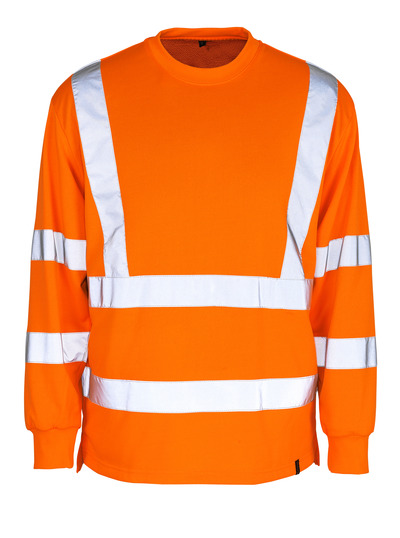 MASCOT® Melita - hi-vis orange - Sweatshirt, klassisk passform, klass 3