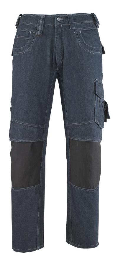 MASCOT® Milton - denimblå* - Jeans med knäfickor