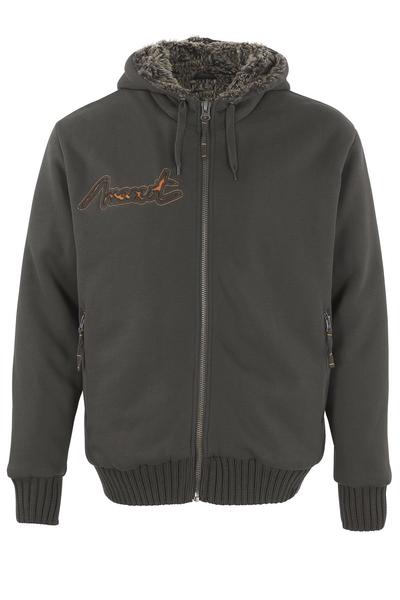 MASCOT® Monforte - mörk antracit* - Huvtröja med blixtlås