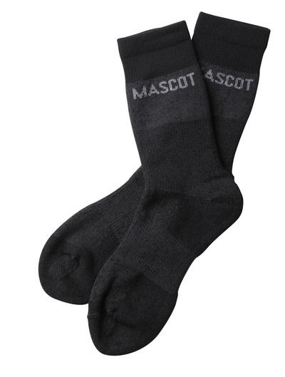 MASCOT® Moshi - mörk antracit-melerat - Sockor