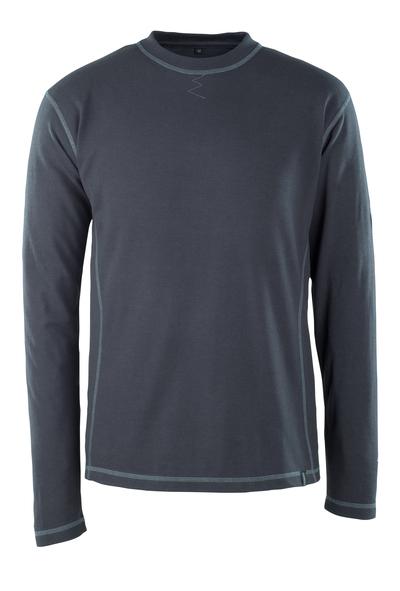 MASCOT® Muri - mörk marin - T-shirt, långärmad, multiskydd, modern passform